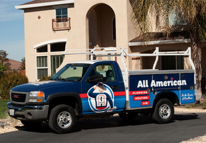 All American Plumbing, Heating, & Air, Inc. are Plumbing, Heating, Cooling & Solar Experts