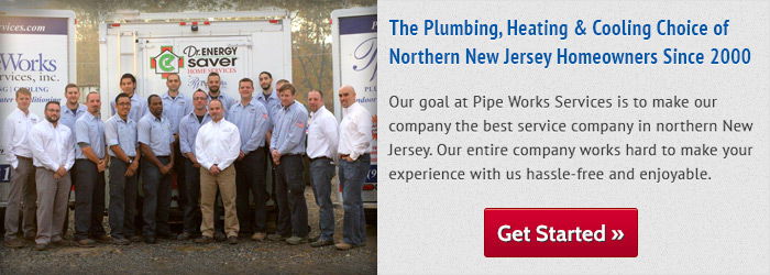 We are the New Jersey plumbing and heating and cooling Experts!