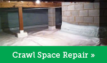 Crawl Space Repair In Pocono Pines, Stroudsburg, East Stroudsburg