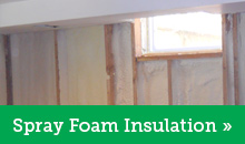Spray Foam Insulation in Wilkes Barre, East Stroudsburg, Scranton, Kingston, Stroudsburg