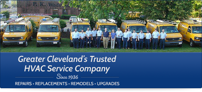 Heating and Cooling Experts in Greater Cleveland