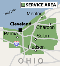 Our Ohio Service Area