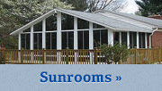 Sunrooms in The Greater Baltimore/Washington Metro Area