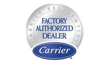 Standard Heating & Air Conditioning Company is a Carrier Factory authorized dealer