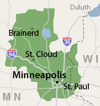 Our Minnesota Service Area