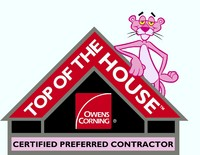 Owens Corning Top of the House Certified Contractor