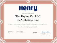 Henry Permax Spray Foam Certified