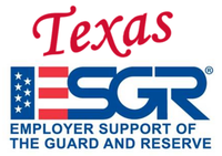Texas Employer Support of the Guard and Reserve