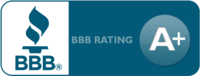 BBB - A+ rating, accredited since 9/20/2010