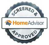 HomeAdvisor Screened & Approved Contractor