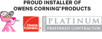 Owens Corning Roofing Platinum Preferred