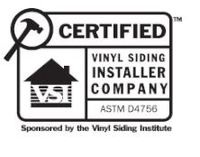 Certified Vinyl Siding Installer (VSI)