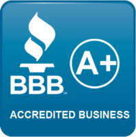 A+ Rated with the Better Business Bureau