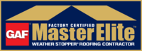 GAF Factory Certified Master Elite™ Weather Stopper® Roofing Contractor