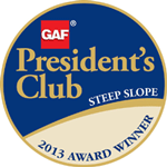 2013 GAF President's Club Award Winner