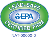 EPA Lead Based Certified #NAT-F176093-1